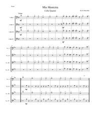 Op. 9 - Mio Monictra for Cello Quartet