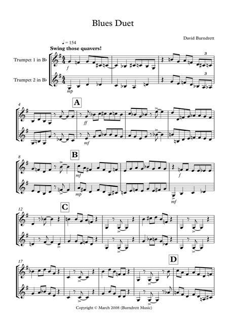 Blues Duet for Trumpet