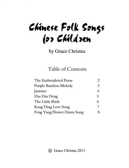 Chinese Folk Songs for Children