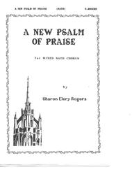 A New Psalm of Praise