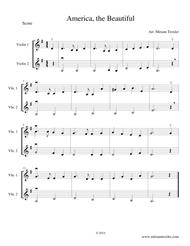 Six Patriotic Violin Duets