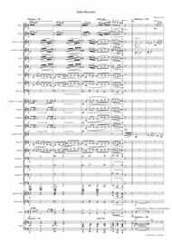 Salut Bayonne - Samba for Concert band  - w. Trp./Bugle Solo
