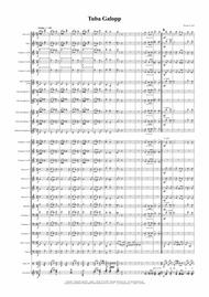 Tuba Galopp - Octoberfest - Concert Band - Tuba Solo