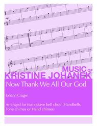 Now Thank We All Our God (2 octave handbells, tone chimes or hand chimes)