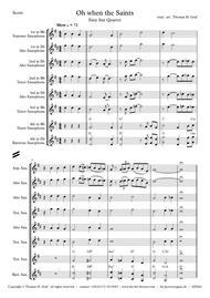 Oh when the saints - Easy Sax Quartet