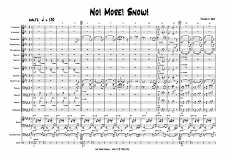No more snow! - Jazz Waltz - Big Band