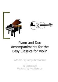 Piano and Duo Accompaniments for the Easy Classics for Violin