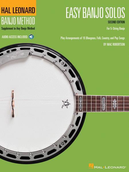 Easy Banjo Solos for 5-String Banjo -\|Second Edition
