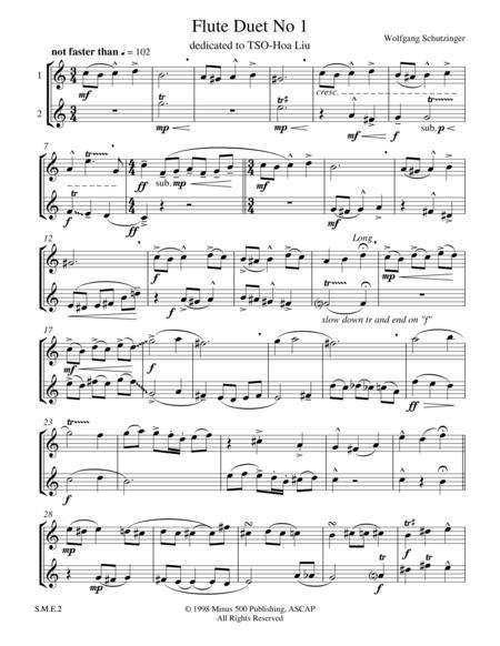 Flute Duet No1