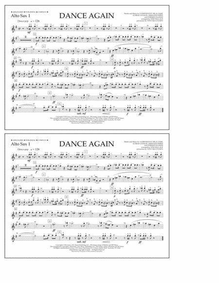 Dance Again - Alto Sax 1