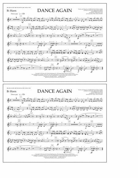Dance Again - Bb Horn