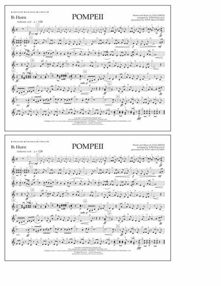 Pompeii - Bb Horn