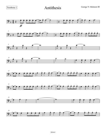 Antithesis Trombone 1