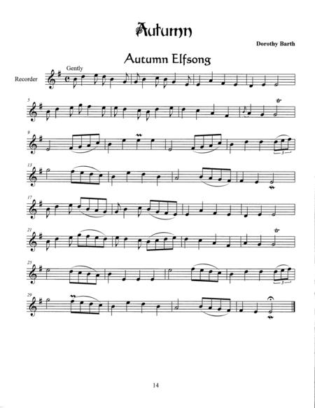 Finding the Faerie's Voice: Autumn