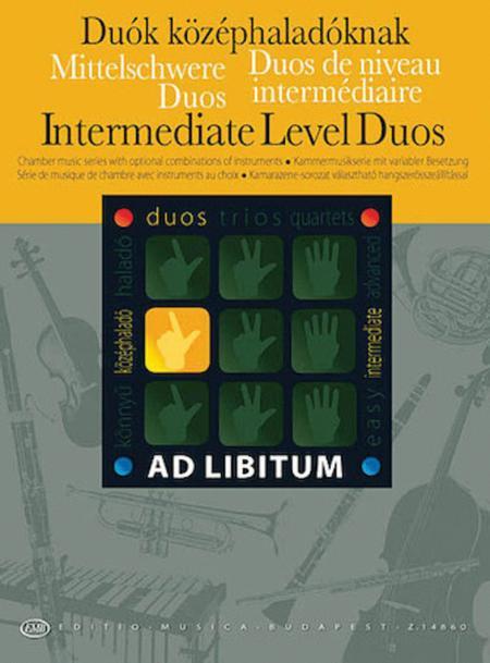 Intermediate Level Duos / Mittelschwere Duos