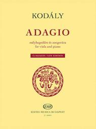 Adagio for Viola and Piano - New Edition