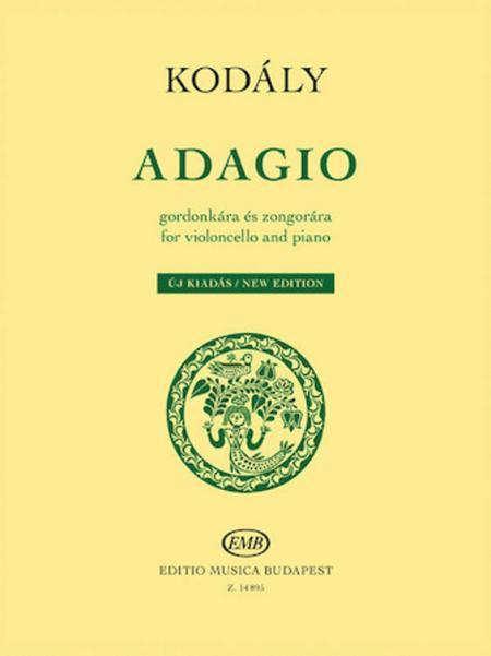 Adagio for Violoncello and Piano - New Edition