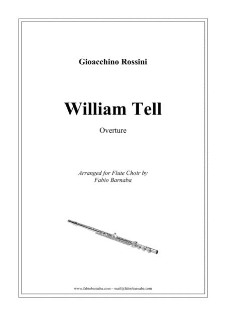 William Tell - Overture for Flute Choir