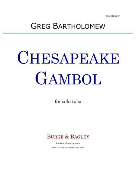 Chesapeake Gambol for solo tuba