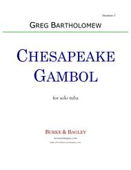 Chesapeake Gambol for solo tuba