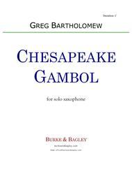 Chesapeake Gambol for solo saxophone