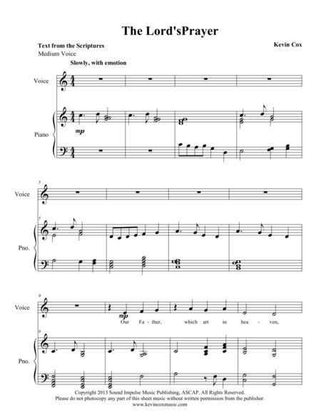 The Lord's Prayer - Medium