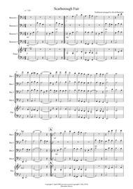 Scarborough Fair for Bassoon Quartet