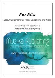 Fur Elise - a Jazz Arrangement for Tenor Saxophone and Piano