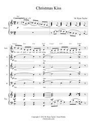 Christmas Kiss for SATB Choir and Piano