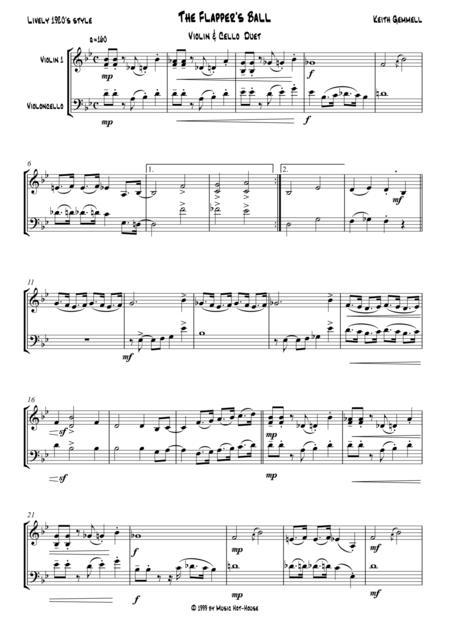 The Flapper's Ball: Violin & Cello Duet