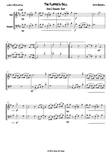The Flapper's Ball: Oboe & Bassoon Duet