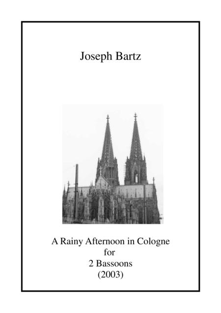 A Rainy Afternoon in Cologne