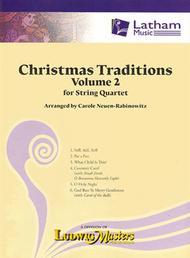 Christmas Traditions for String Quartet, Volume 2