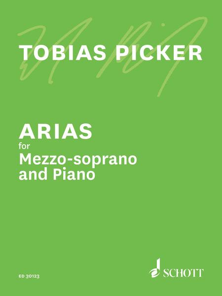 Arias For Mezzo Soprano And Piano