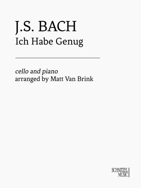 Ich Habe Genug (Cello & Piano)