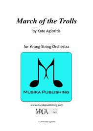 March of the Trolls - String Orchestra
