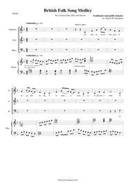 Llwyn Onn for SAB choir and piano or keyboard