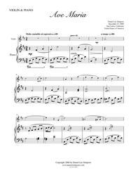 Ave Maria for Violin & Piano