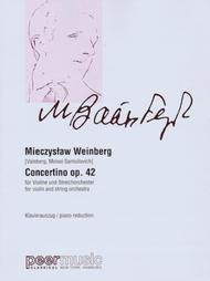 Concertino Op. 42 for Violin and String Orchestra