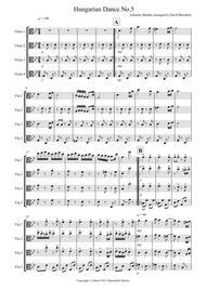 Hungarian Dance No.5 for Viola Quartet