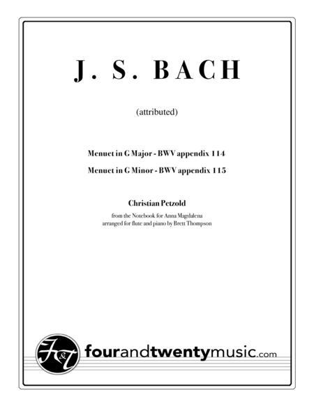 Menuet in G Major (BWV 114) & Menuet in G Minor (BWV 115)