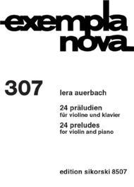 24 Preludes for Violin and Piano
