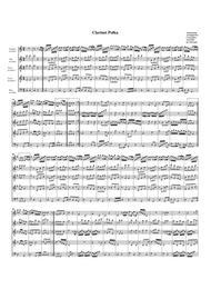 Clarinet Polka