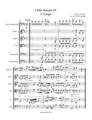 Sonata for Cello RV 40 Movement I