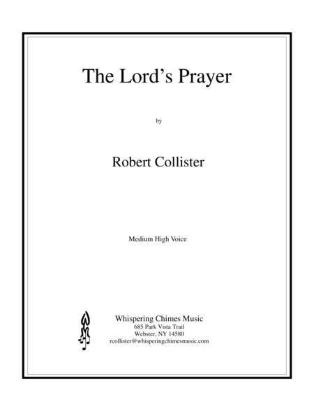 The Lord's Prayer (medium high voice)