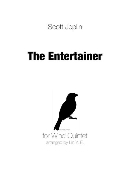 Scott Joplin - The Entertainer for Wind Quintet