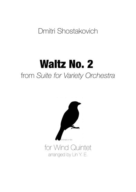 Shostakovich Waltz No. 2 from Suite for Variety Orchestra for Wind Quintet