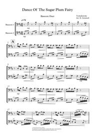 Dance Of The Sugar Plum Fairy: Bassoon Duet