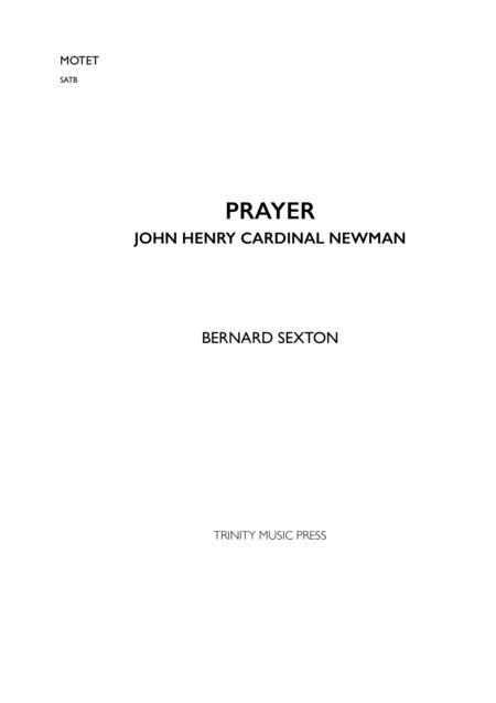 Prayer - John Henry Cardinal Newman
