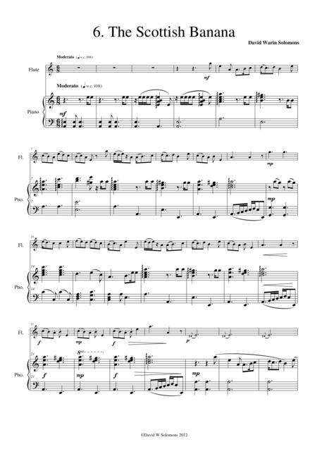 The Scottish banana (flute and piano)